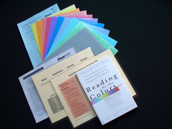 Reading By The Colors Book And Overlays Set