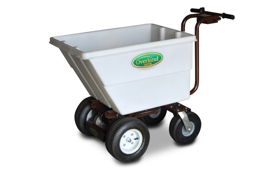 7 Cubic Foot Electric Garden Wheelbarrow