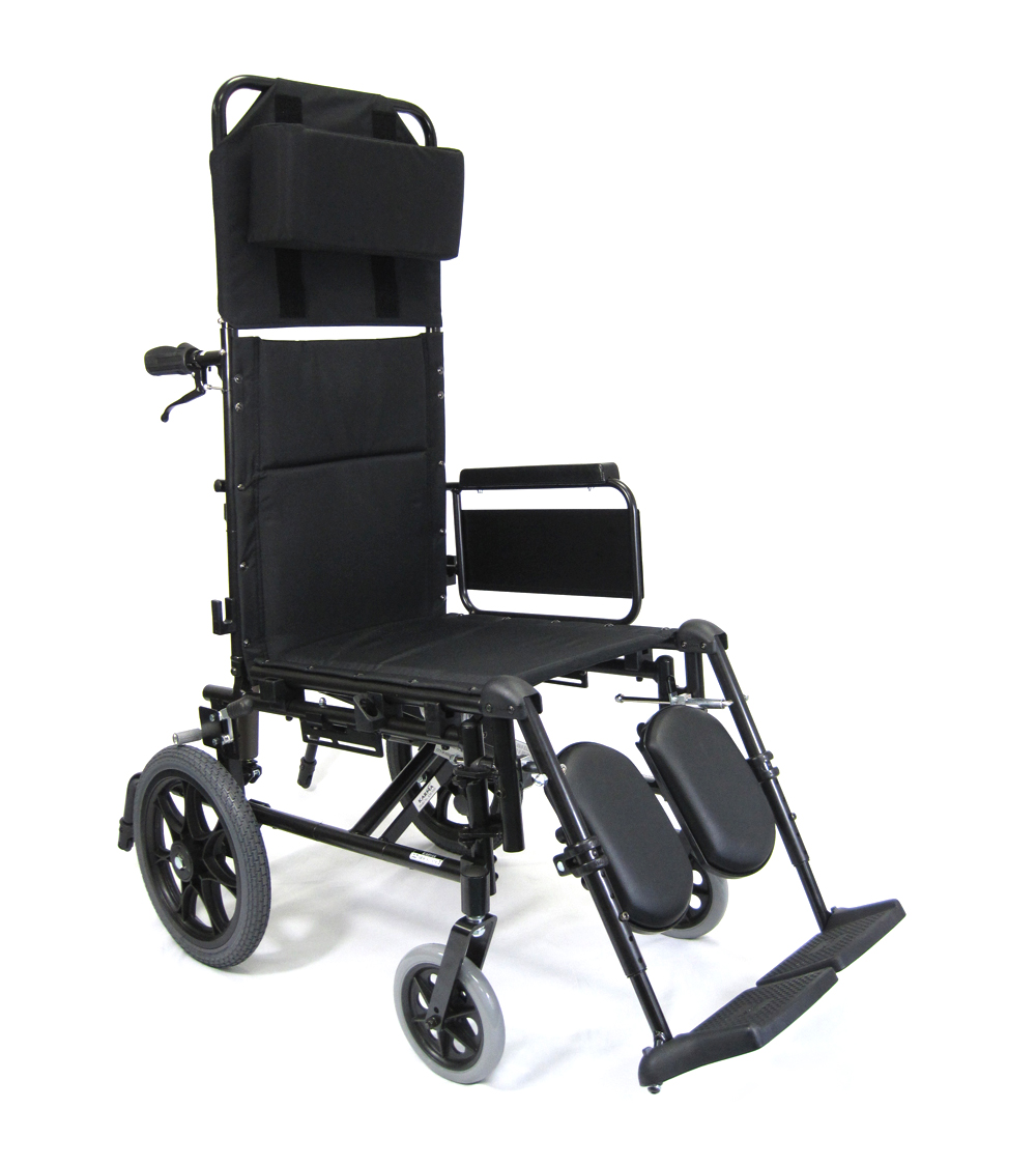 36 lbs T-6 Aluminum Ultra Light Reclining Wheelchair