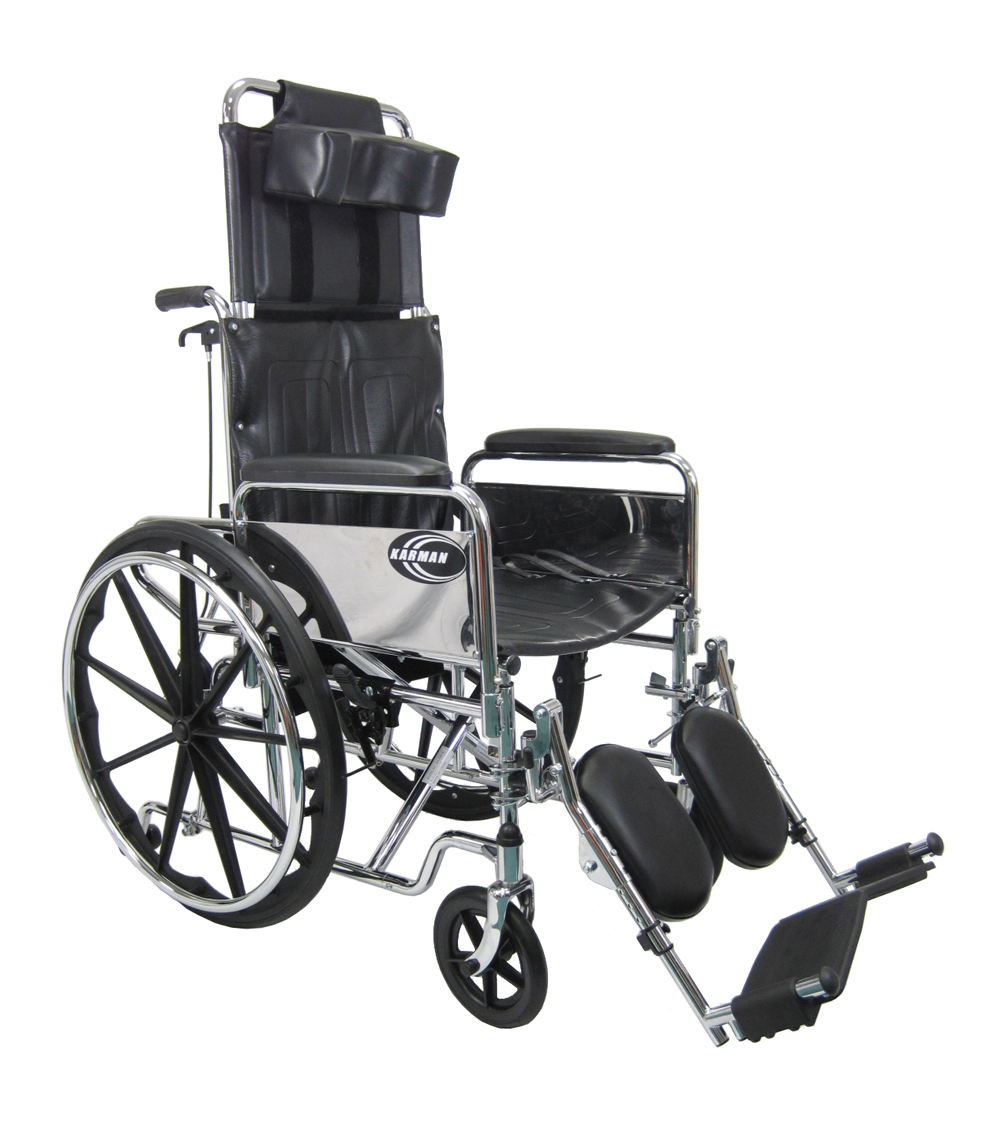 Karman KN-880-WE Reclining Back Wheelchair