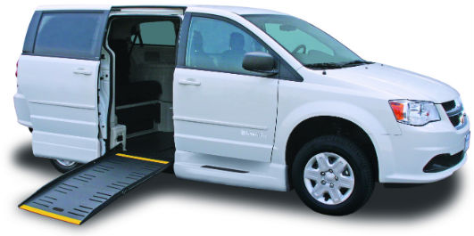 Side-Entry Dodge Wheelchair Minivan