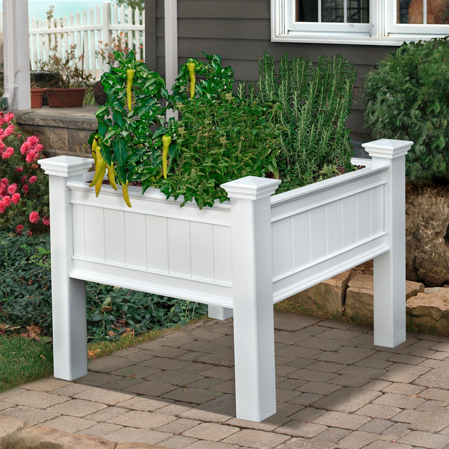 Mayfair 3 ft. x 3 ft. Raised Planter