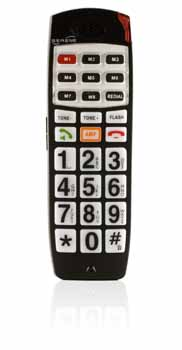 Serene® CL-30 Big Button Cordless Phone With Talking Caller ID