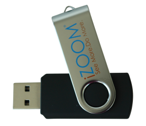 iZoom Screen Magnifier & Reader – USB