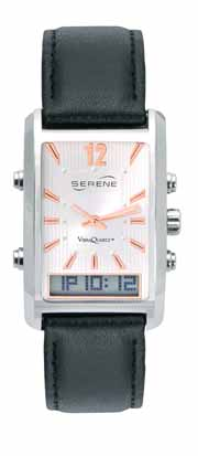 Serene® Dress Watch With Vibrating Alarm