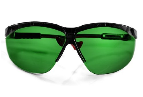 Oxy-Iso Colorblindness Correction Glasses, Green lenses