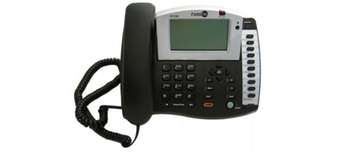 Fanstel ST250 Two-Line Amplified Business Professional Speakerphone