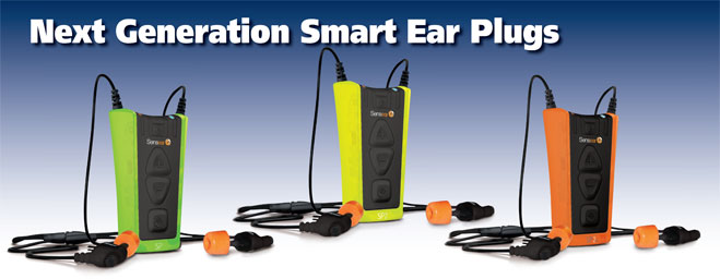 Sensear Noise Cancelling Earplugs