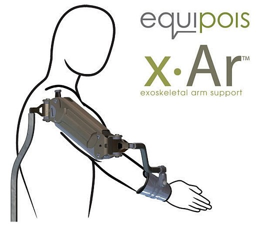 X-Ar Exoskeletal Arm Support