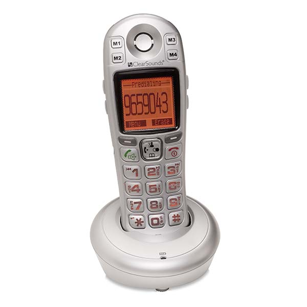 ClearSounds A600E DECT 6.0 Expandable Handset
