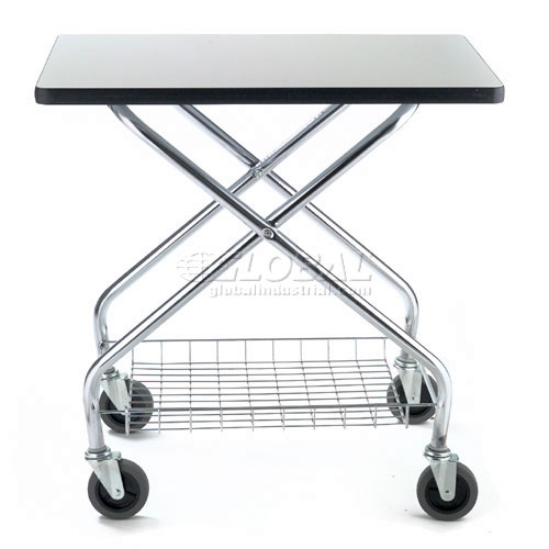 Fold and Store Service Cart