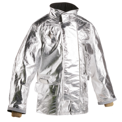 "35"" PFR Rayon Aluminized Jacket, Fits Chest Size 42"" to 44"", L"