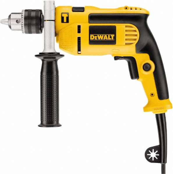 DeWALT 1/2 Inch Chuck, 120 Volts, 47,600 BPM, 2800 RPM, Electric Power Hammer Drill