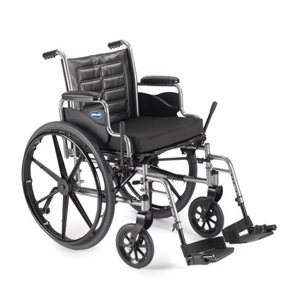 "Invacare Tracer EX2 Wheelchair, Removable Full-Length Arms 18"" x 16"""