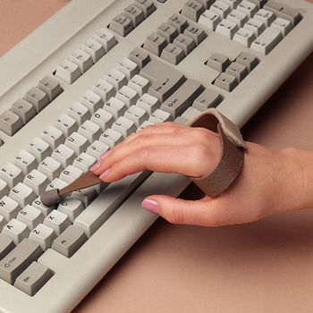 Slip On Typing or Keyboard Aid