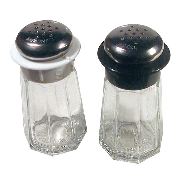 Braille Super Salt and Pepper Shaker Set