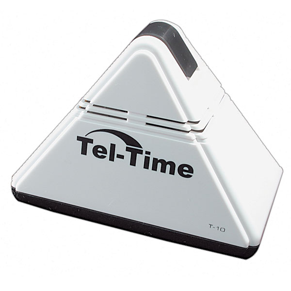 pyramid talking alarm clock