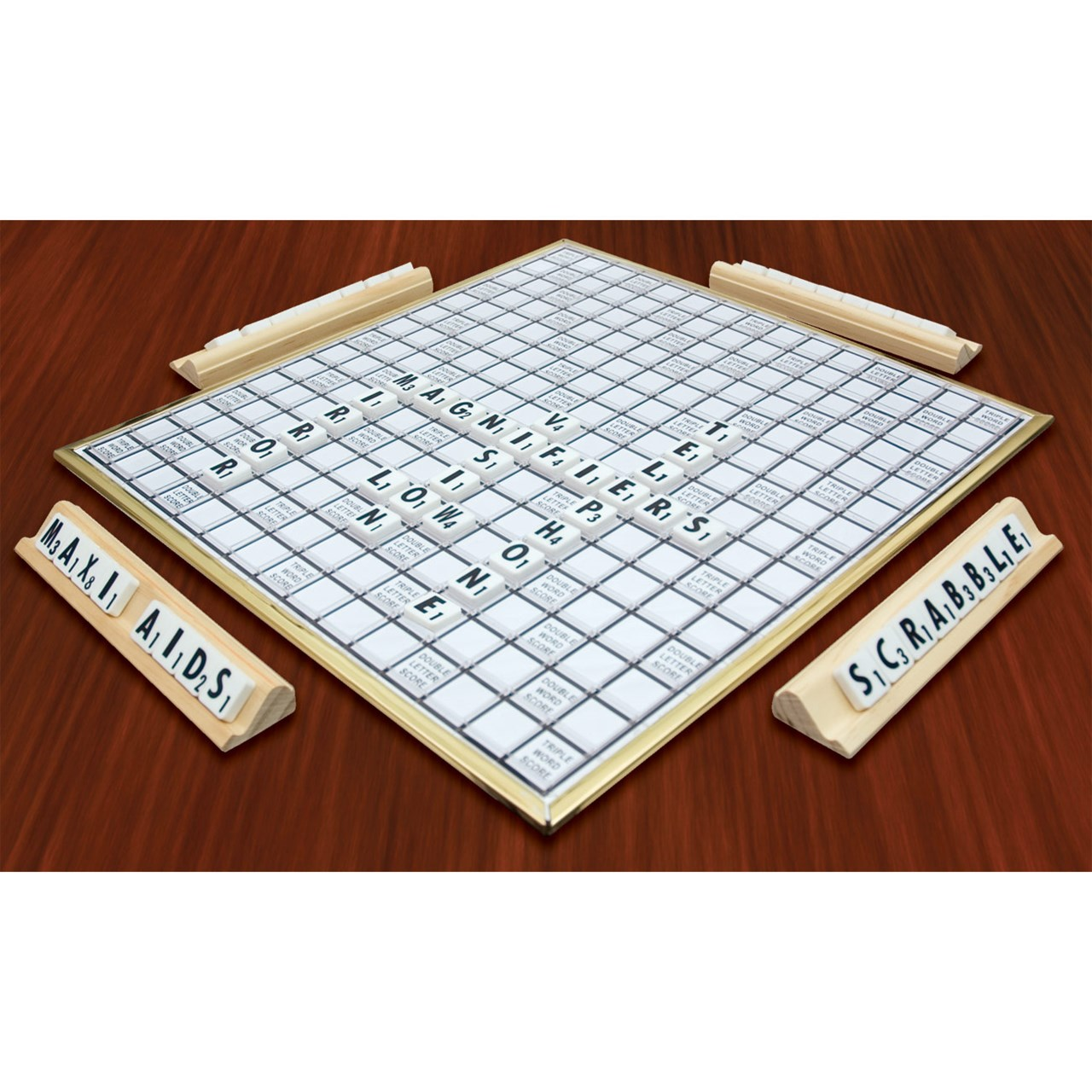 scrabble deluxe for low vision