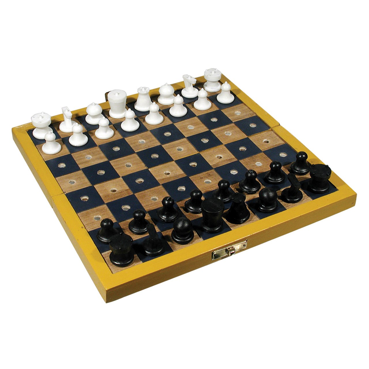 Travel Chess Set for the Blind or Those With Low Vision