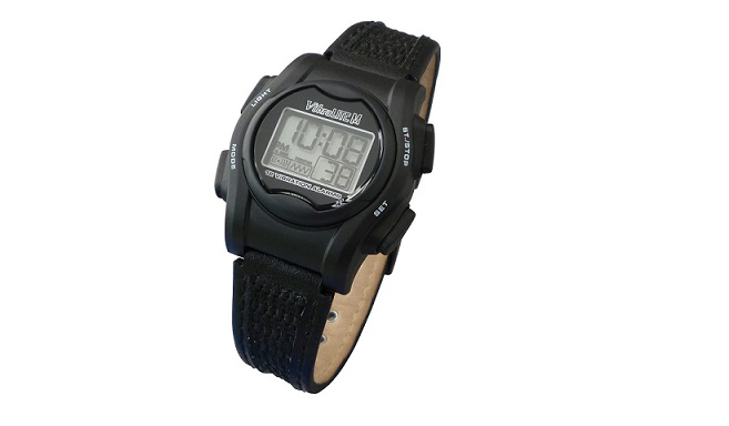 VibraLITE Mini Vibration Watch-Black