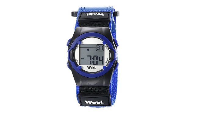 WobL 8-Alarm Vibrating Reminder Watch