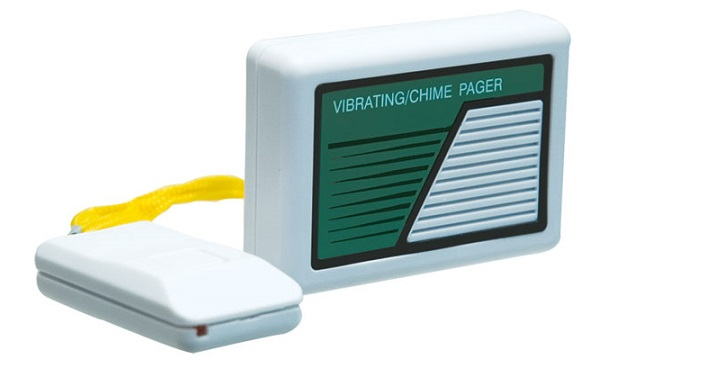 Vibrating Wireless Personal Pager