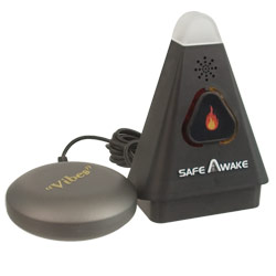 SafeAwake Smoke Alarm Aid with Bed Shaker