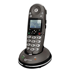 Geemarc AmpliDect350 Amplified Cordless Phone-40dB