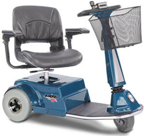 Amigo RD 3 Wheel Electric Scooter Blue