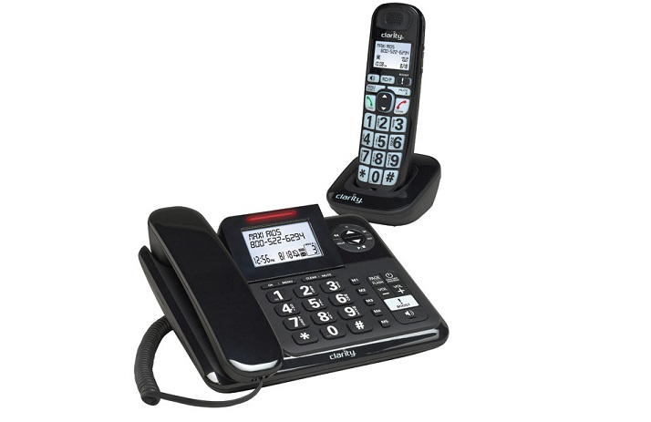 E814CC Amplified Phone-Answer Machine-Extra Handset