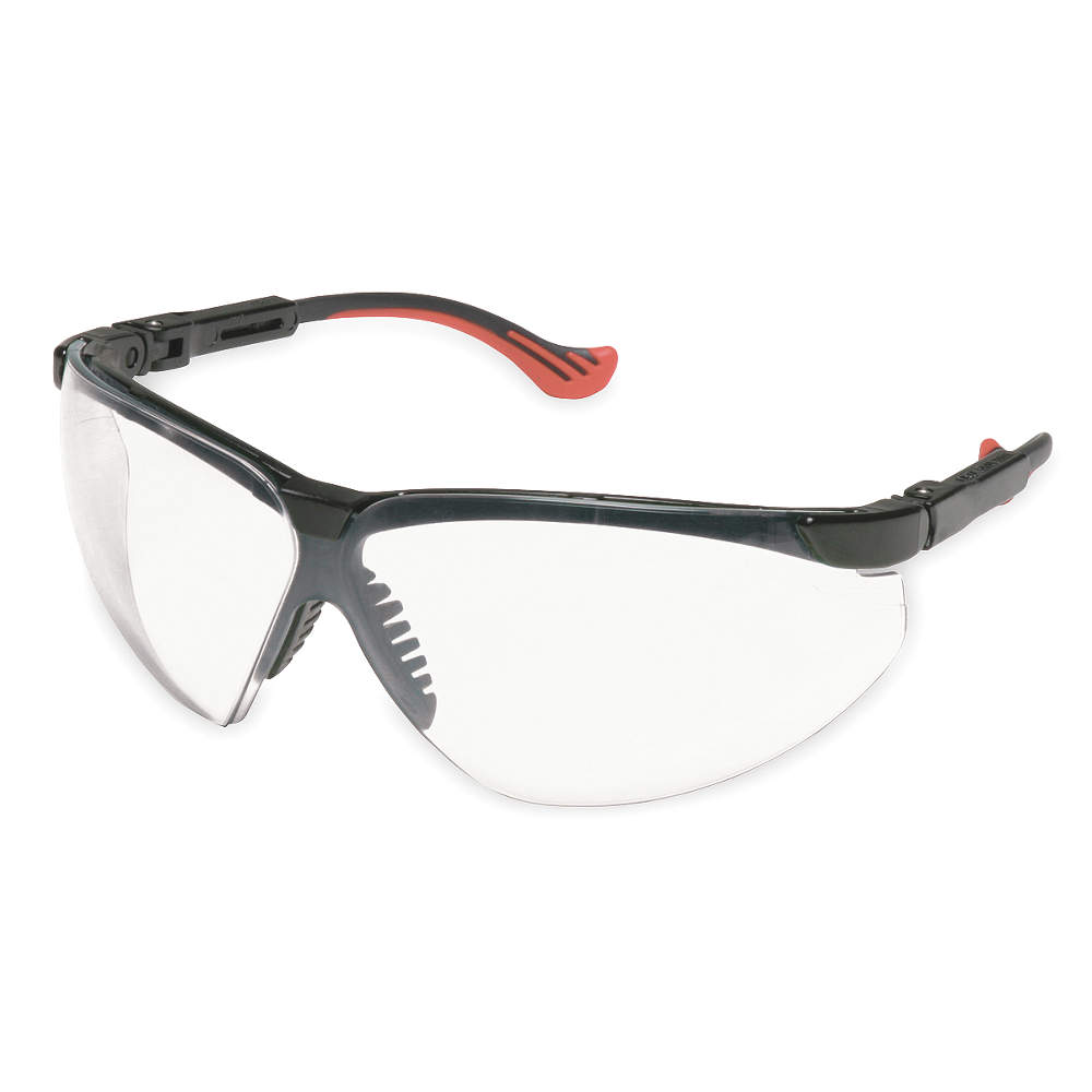Wraparound Anti-Fog, Scratch-Resistant Laser Safety Glasses with Clear Lenses
