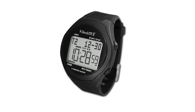 Global VibraLITE 8 Vibrating Watch with Black Band