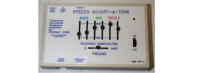 Speech Adjust-A-Tone