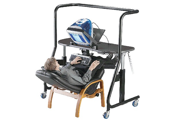 Sit-Stand-Recline Workstation - Model 500