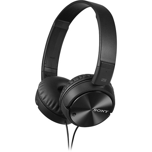 Sony - Noise-Canceling Over-the-Ear Headphones