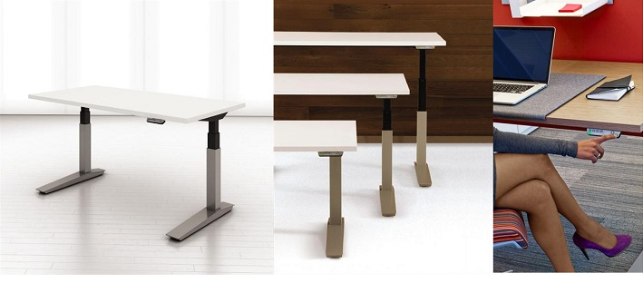 Planes Hight Adjustable Table