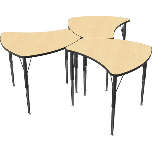 Collaborative Student Desks ~ Shapes collaborative student desk group