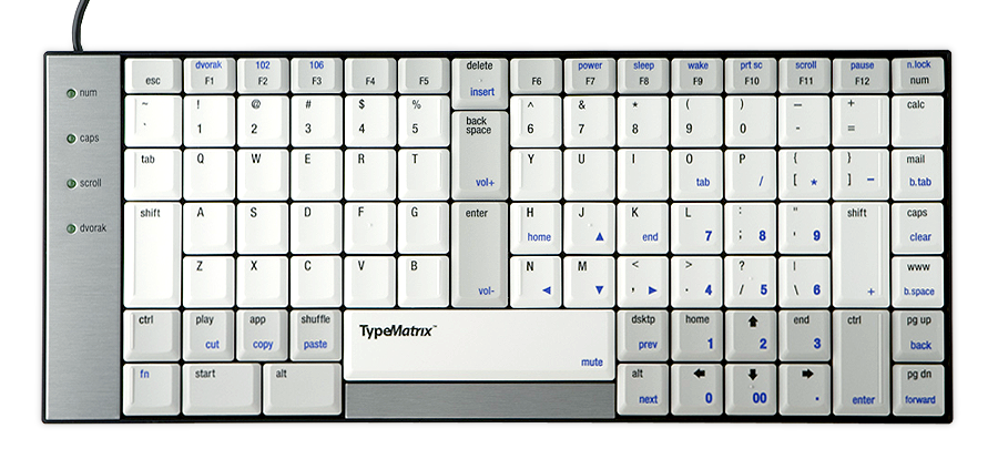 TypeMatrix Ergonomic Keyboard