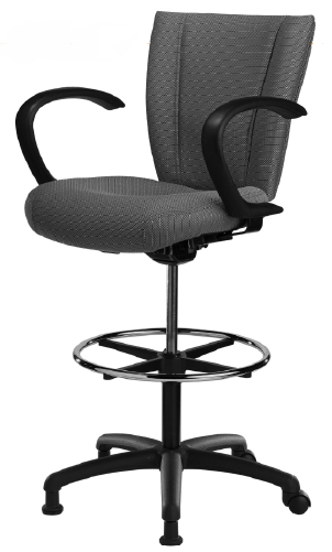 ... Monterey 400 24/7 Big And Tall Drafting Chair