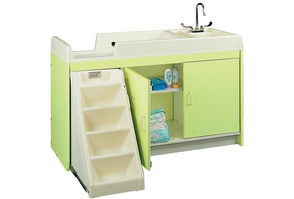Ultimate Toddler Changing Center with Trays