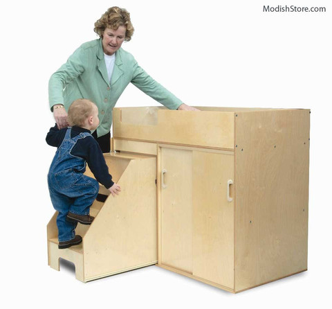 Whitney Brothers Toddler Changing Cabinet