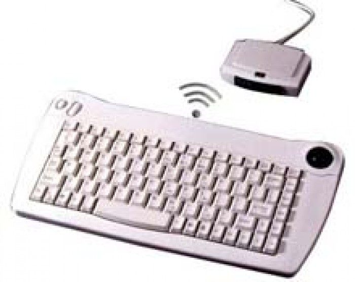 Mini Keyboard with Trackball