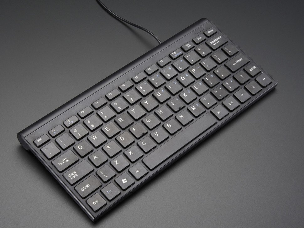 Mini Chiclet Keyboard - USB Wired