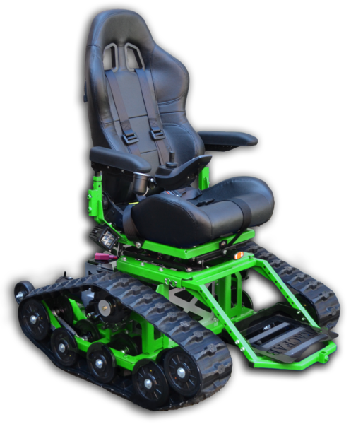 TracFab All Terrain Tracked Wheelchair