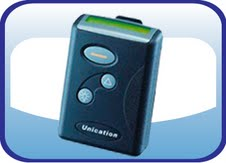 Unication NP88 Numeric Pager with 24month Service Plan