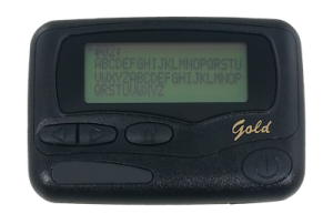 Gold Alphanumeric Pager