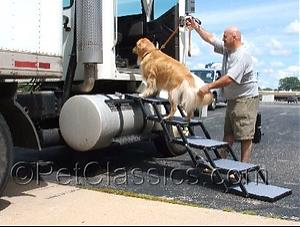 Pet Loader 5 Step- Folding Dog Stairs