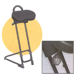 Ergonomically Designed Sit-Stand Stool