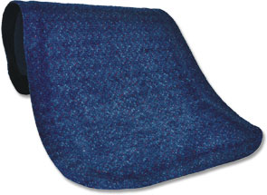 Carpeted Anti-fatigue Mat - blue