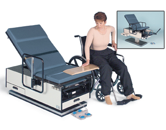 Model 4460 ADA Wheelchair Ht. Exam Table